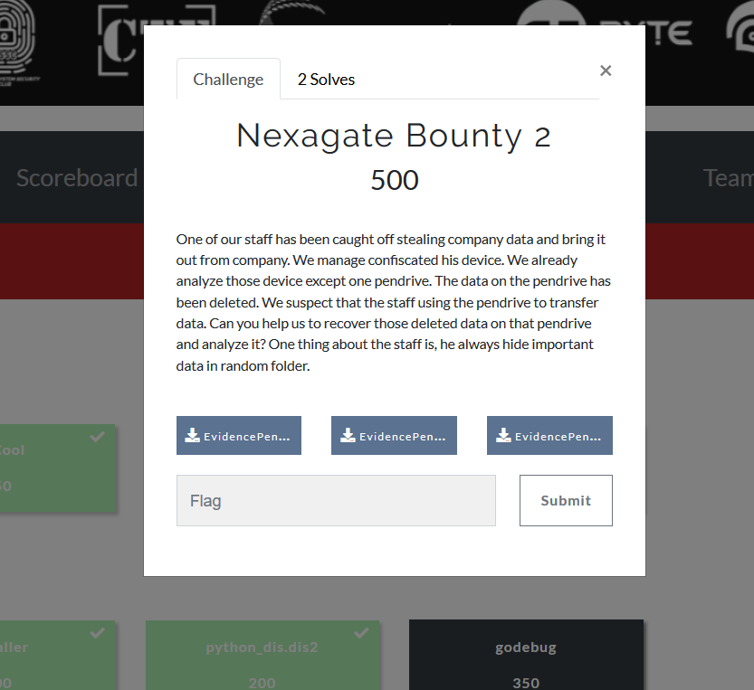 CTF UniKL 2018 Writeup: Nexagate Bounty 2 | SiG FSTM
